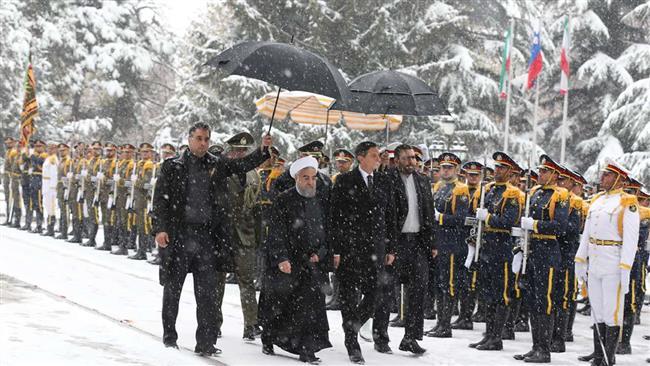 Iran and Slovenia President