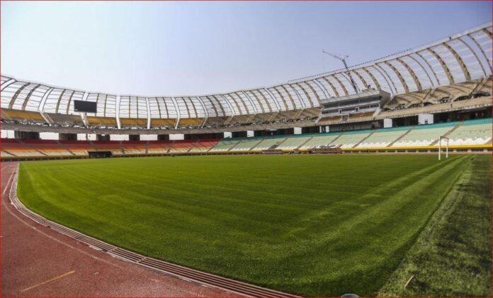 Iranian football stadium Naghsh-e Jahan
