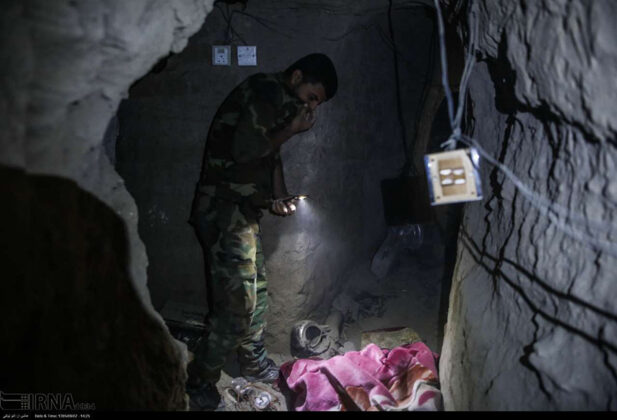 ISIS' Tunnels