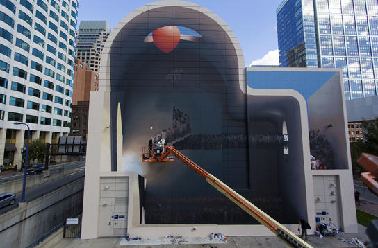 Artwork -Boston Walls