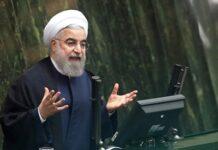 Rouhani in Majlis