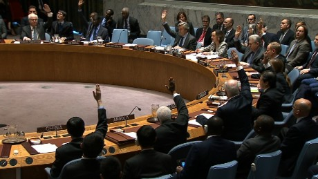 UNSC Vote on Israel