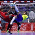 Iran and Brazil futsal