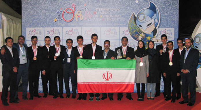 Iran-Astronomy Olympiad