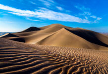 Lut Desert in Iran