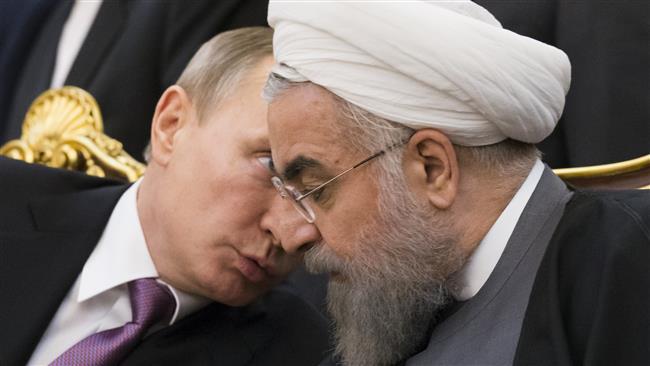 Putin and Rouhani