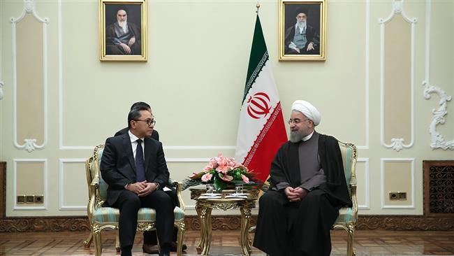 Rouhani - Indoesia parliament speaker