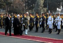 Rouhani Leaves Tehran to Iravan