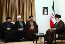 Iran Leader and Ammar Hakim