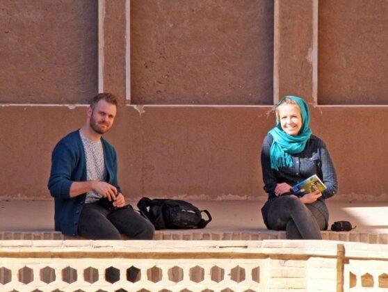Foreign Tourists- Kashan