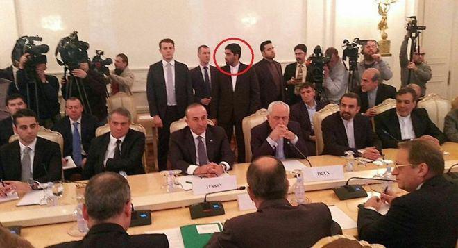 Iranian FM's Bodyguard-Moscow