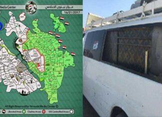 الفريق الخبري لقناة الغدير ينجو من قصف مسيرة لـ داعش