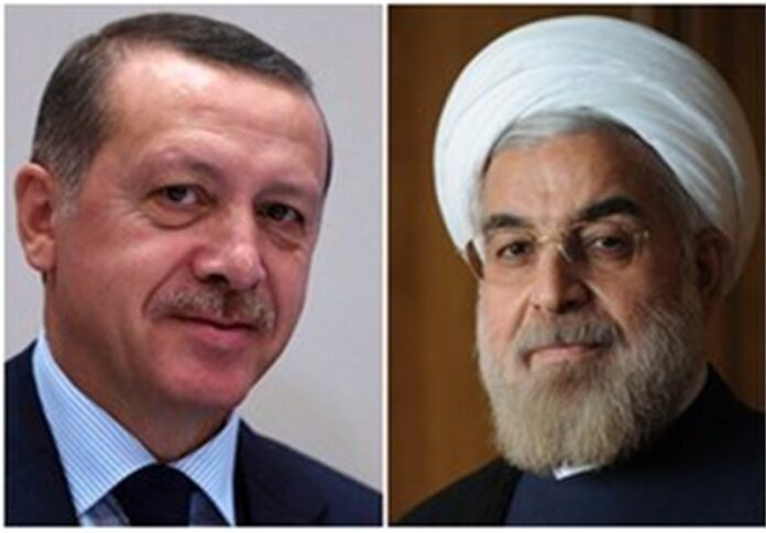 Rouhani Congratulates Erdogan on Turkey's National Day