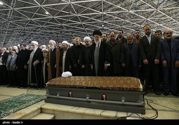 Ayatollah Khamenei- Rafsanjani's Funeral