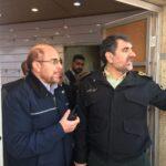 Ghalibaf at Plasco Collapse incident