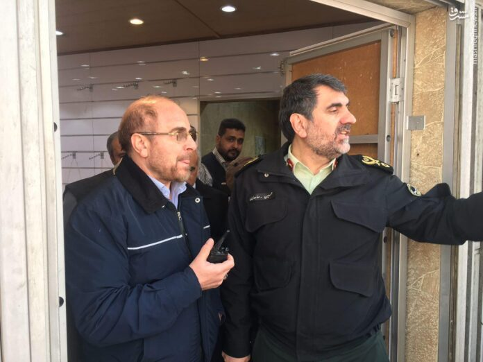 Ghalibaf at Plasco Collapse incident
