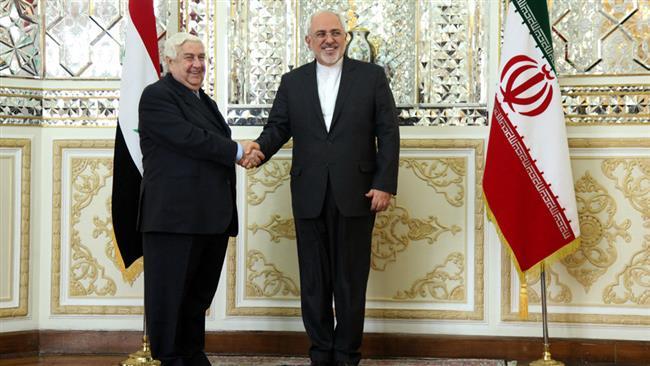 Mohammad Javad Zarif and Valid Moalem