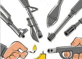 Nuclear Deal Birthday cartoon