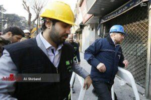 Tehran Mayor Ghalibaf at Pelasco incident
