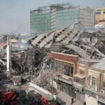 Tehran Plasco Collapse
