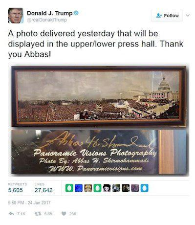 Trump-Abbas Shirmohammdi