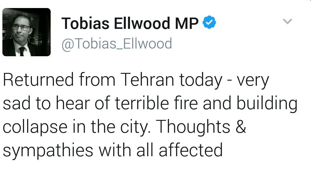 Tobias Ellwood- Twitt