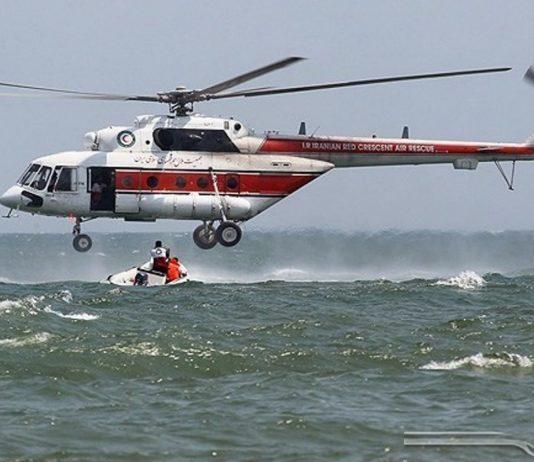 مناورات للاغاثة والانقاذ البحري في الخليج الفارسي