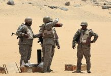 نیروهای عربستان سعودی