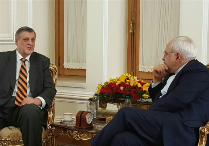 Iran's FM, UN Envoy Discuss Iraq Developments