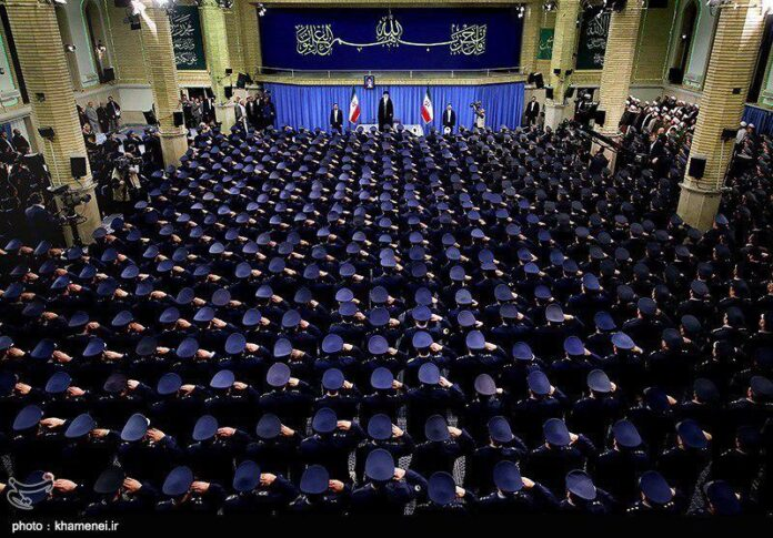 Iran Supreme Leader - Air Force meeting - 2016