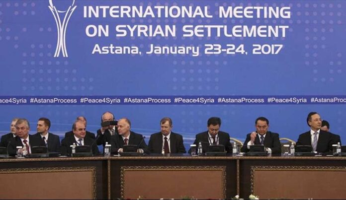 international meeting on Syrian settlement
