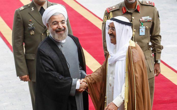 الرئيس الايراني- امير الكويت
