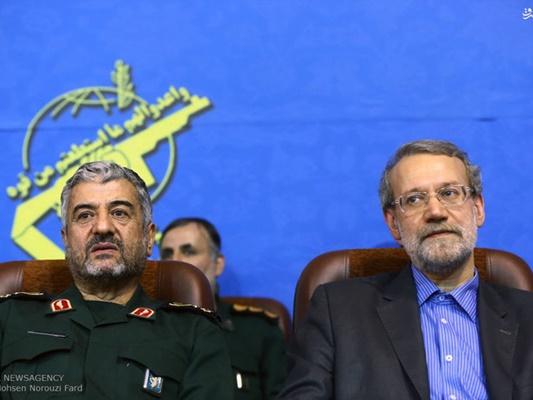 IRGC-Larijani