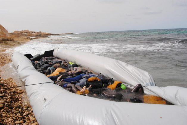 اجساد مهاجران آفریقایی