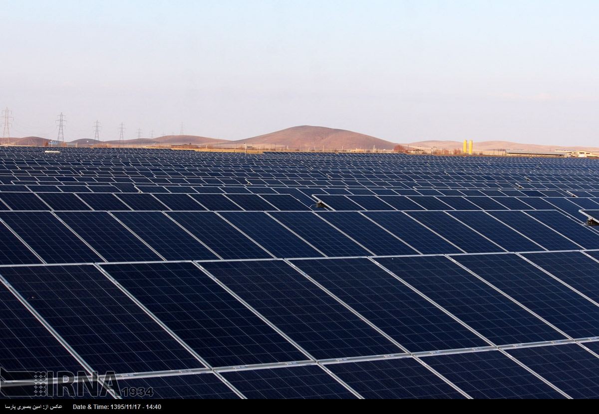 Report on solar power plant