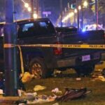 Truck Rams Crowd in New Orleans