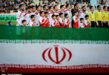 كرة القدم الإيرانية الأولى آسيويا
