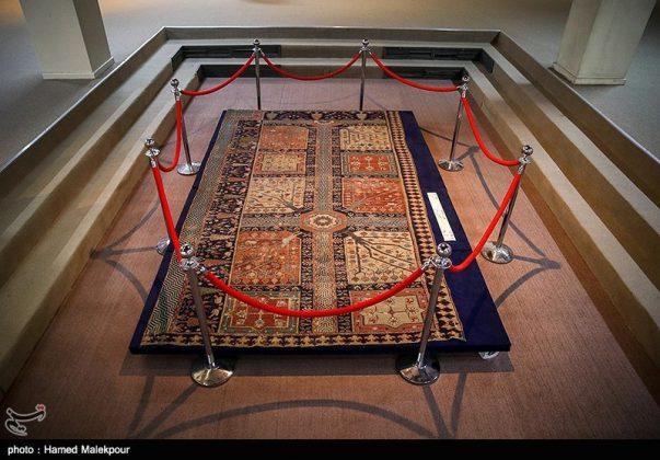 متحف السجاد في ايران 6