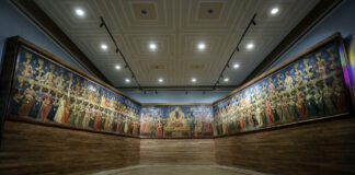 Old Iranian Painting Repaired, Displayed in Tehran
