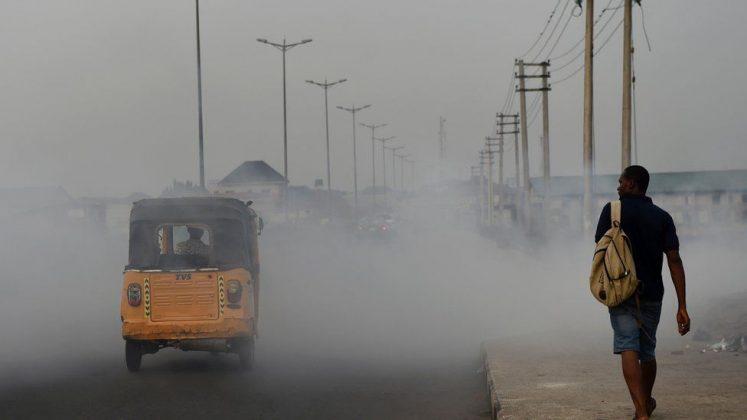 آلودگی هوا در نیجریه