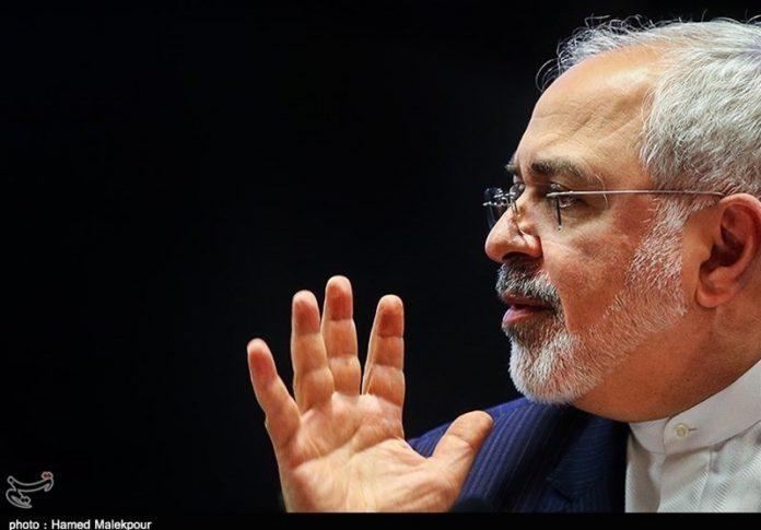 وزيرالخارجية الايراني محمد جواد ظريف