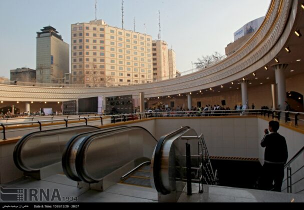 Plaza Opened in Heart of Square in Central Tehran (10)