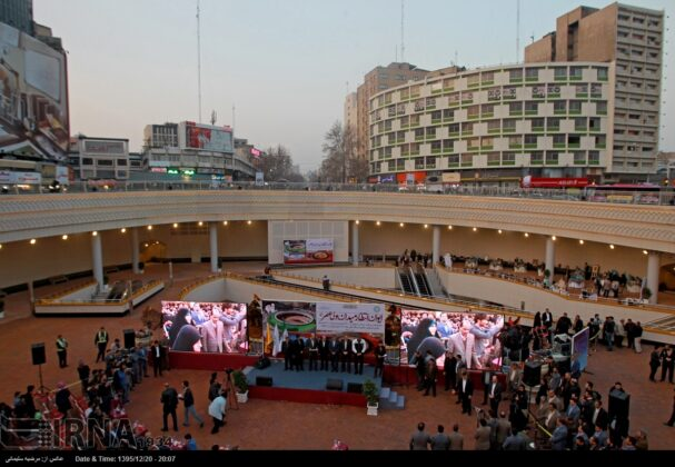 Plaza Opened in Heart of Square in Central Tehran (12)