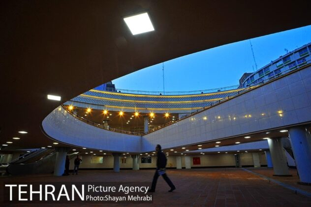 Plaza Opened in Heart of Square in Central Tehran (15)