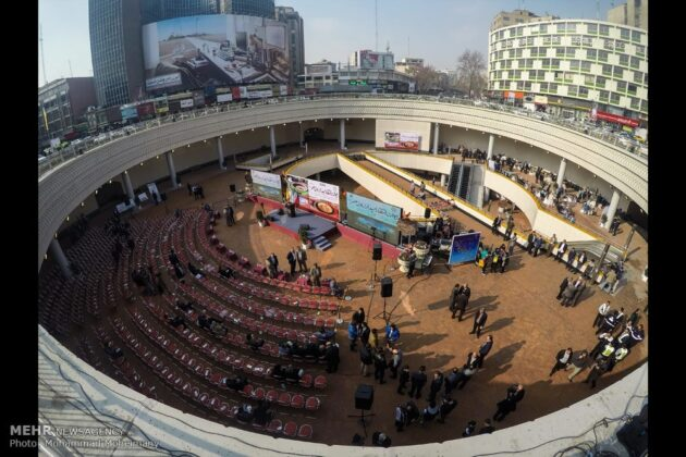 Plaza Opened in Heart of Square in Central Tehran (19)
