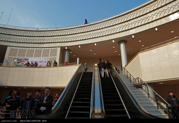 Plaza Opened in Heart of Square in Central Tehran (6)