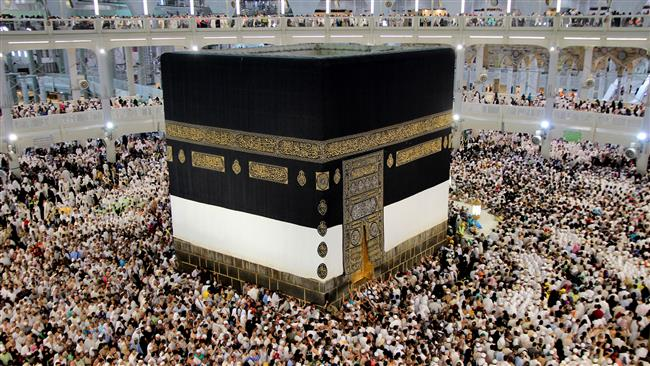 People perform Hajj rituals around the Kaaba at the Grand Mosque in the holy city of Mecca, Saudi Arabia. (File photo)