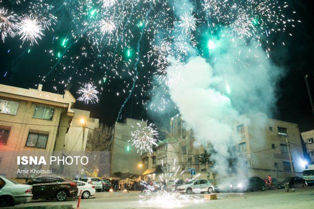 """احتفال الاربعاء """"چهار شنبه سوري"""" -3"""