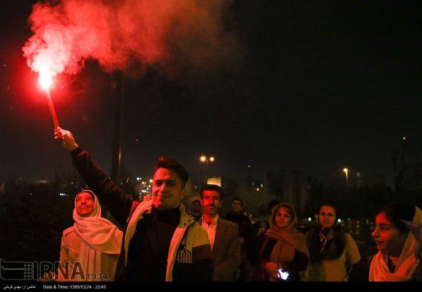 """احتفال الاربعاء """"چهار شنبه سوري"""" -15"""