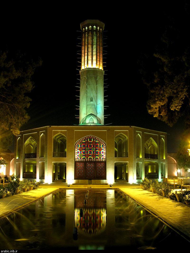 الفن المعماري الايراني .. العبارة الهوائية 2